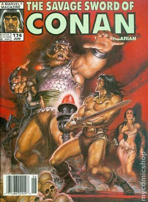 Savage Sword of Conan (Magazine) #174 1990 VG Stock Image Low Grade