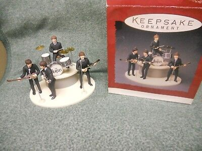 30th Anniversary The Beatles Gift Set of 5 Hallmark Keepsake Ornament 1994 XMAS
