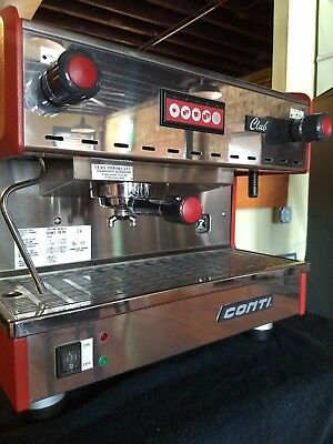 conti one group espresso machine
