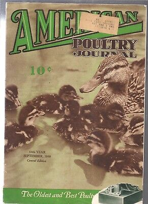 3 Vintage Poultry Magazines