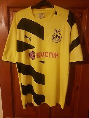 Borussia Dortmund / Bvb Football Shirt 2014 / 2015 Size Medium