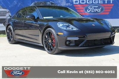 2018 Panamera Turbo 2018 Porsche Panamera, Jet Black Metallic with 1,289 Miles available now!