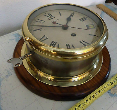 SMITH old  SHIP CLOCK,large size,FULL SERVICE ,with great work and aspect