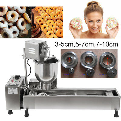 CE Commercial Automatic Donut Maker Stainless Steel Donut Maker Making Machine