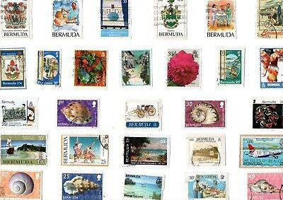 A Lovely Mix Of Mostly Recent Commemorative Stamps From Bermuda