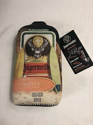 Jeagermeister Liquor 2012 Las Vegas Zip Up Bottle Holder