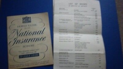 1948.National Insurance The Start 5th July 1948 Family Guide