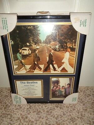 The Beatles Abbey Road Framed Print