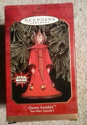 1999 Hallmark Keepsake Ornament QUEEN AMIDALA Star Wars Episode 1