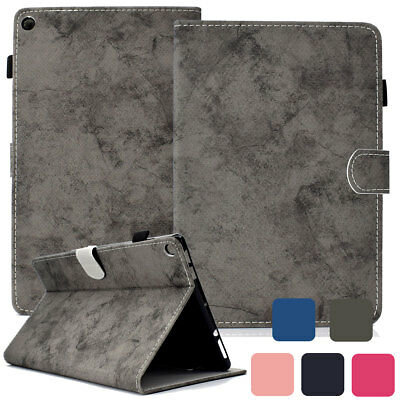 Magnetic Flip Wallet Leather Case For Amazon Kindle Fire HD 10 8 7 2017 7th Gen