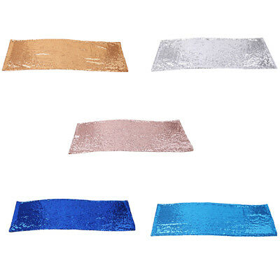 FashionTablecloth Color Sparkly Sequin Table Runners For Wedding Table EG