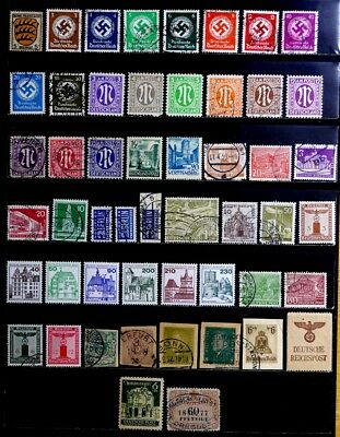 Germany: Classic To 60's Stamp Collection, Amg, Occupation, Berlin, B.o.b.