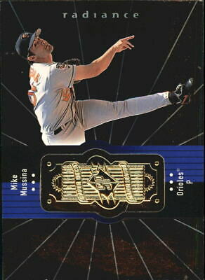 1998 SPx Finite Radiance Baltimore Orioles Baseball Card #63 Mike Mussina /4500