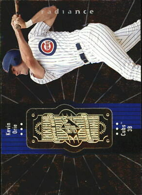 1998 SPx Finite Radiance Chicago Cubs Baseball Card #69 Kevin Orie /4500