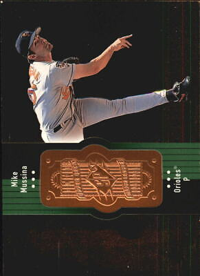 1998 SPx Finite Baltimore Orioles Baseball Card #63 Mike Mussina /9000