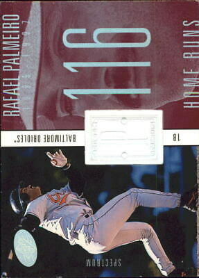 1998 SPx Finite Spectrum Orioles Baseball Card #238 Rafael Palmeiro PP /1750
