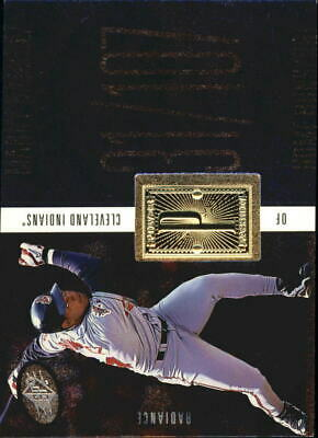 1998 SPx Finite Radiance Indians Baseball Card #224 Manny Ramirez PP /3500