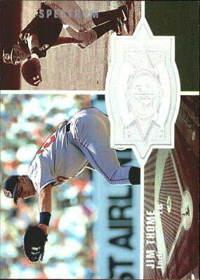 1998 SPx Finite Spectrum Cleveland Indians Baseball Card #151 Jim Thome SF /1750
