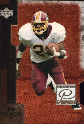 1998 Black Diamond Premium Cut Double Redskins Football Card #PC16 Terry Allen
