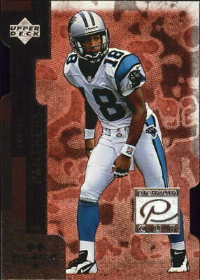 1998 Black Diamond Premium Cut Double Panthers Football Card #PC23 Rae Carruth