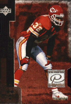 1998 Black Diamond Premium Cut Double Chiefs Football Card #PC6 Marcus Allen