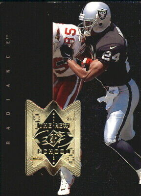 1998 SPx Finite Radiance Chargers Football Card #325 Charles Woodson NS /2000