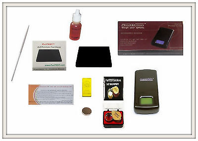 Silver Acid Testing Kit Electronic Scale Digital Test  Sterling .999 .925 .800