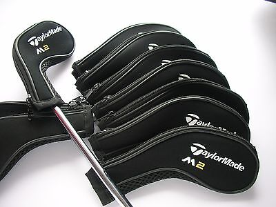 Set of 11 x Taylormade M2 Iron Golf Club Head Covers 3,4,5,6,7,8,9,A,PW,SW,LW