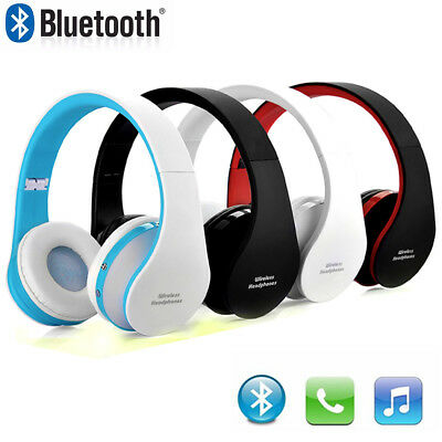 Wireless Bluetooth Foldable Headset Stereo Headphone Earphone for iPhone Samsung
