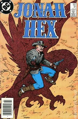 Jonah Hex (1st Series) Canadian Price Variant #81 1984 VG- 3.5 Stock Image