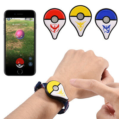 AU For Pokemon Nintendo Go Plus Bluetooth Wristband Bracelet LED Watch Accessory