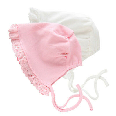 Baby Girl Infant Newborn Kids Cute Lace Hat Cap Beanie Bonnet Hats Hair BS