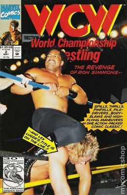 WCW World Championship Wrestling #2 1992 FN Stock Image