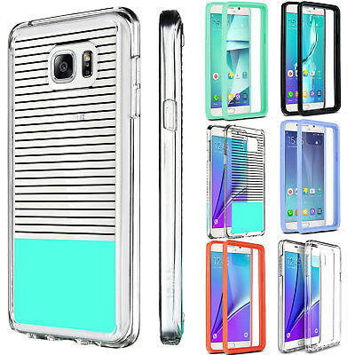 Case for Samsung Galaxy Note 5 Slim Transparent Shockproof Clear Hard TPU Cover