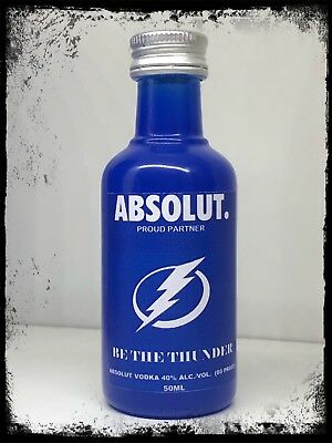 "Absolut Vodka ""Be The Thunder"" Lightning 50ml Selfmade Mini"