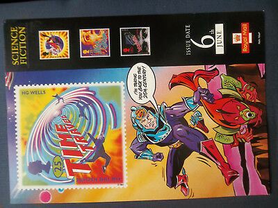 Royal Mail A4 Post Office Poster Science Fiction Hg Wells Alien Invasion