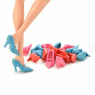 Fantastic Mix Color Fashion High Heel Shoes Cloth Accessories for  Doll JS