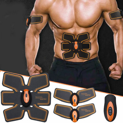 Abdominal Toning Belt ABS Gear Stimulator Electronic Muscle Fitness Training Pro