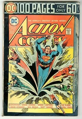 Action Comics #437 (1974) Fine New DC Collection 100pg Giant
