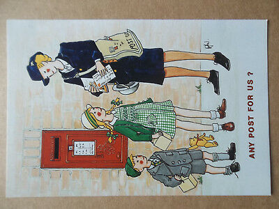 Rosalind Wicks Thought Factory Postbox Postcard Any Post For Us No.10.2