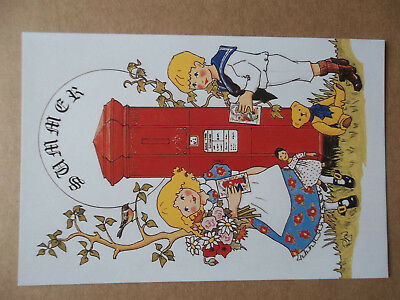 Rosalind Wicks Thought Factory Postbox Postcard Summer Number 40
