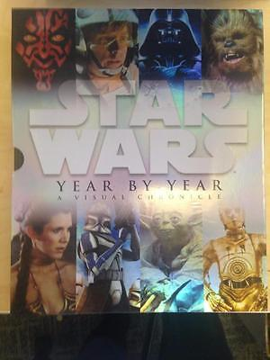 Star Wars Year by Year: A Visual Chronicle    Hardcover w Slipcase