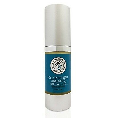 Acne-Fighting Organic Moisturizer Cleansing Face Oil with Tea Tree and Eucalyptu