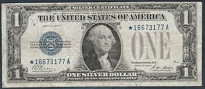1928-A $1 *Star Note* Small Silver Certificate *Free S/H After 1st Item*