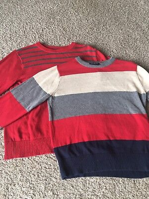 Boys Childrens Place Sweater Lot 2 Holiday Christmas Size 7/8
