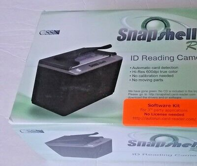 Lot of 3 Acuant SnapShell R3 Drivers License Scanner ID Reader Hardware Only New