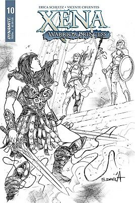 Xena #6 1:20 Vicente Cifuentes B/&W Cover D Variant Dynamite Comic Book NM