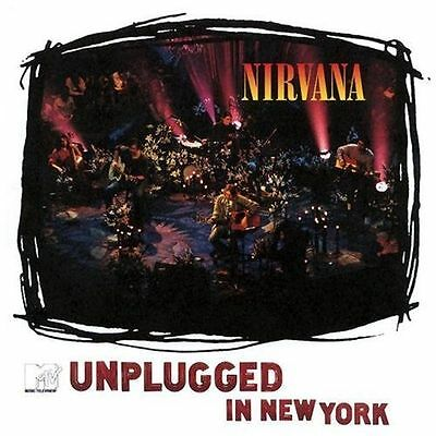NEW Unplugged in New York LIVE by Nirvana (US CD 1994 Kurt Cobain MTV IN NY CITY