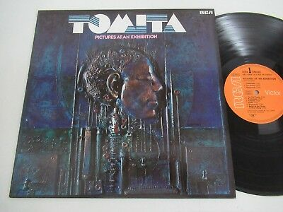 Tomita/pictures At An Exhibition Lp Germany Rca Arl1-0838
