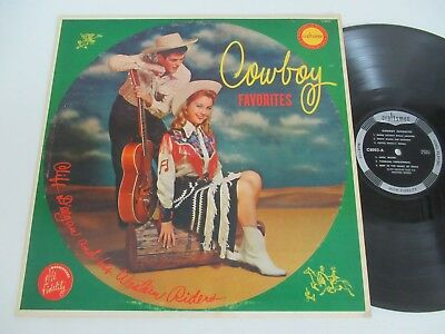 Cliff Deegan And His Western Riders/cowboy Favorites Lp Us Craftsmen C8003